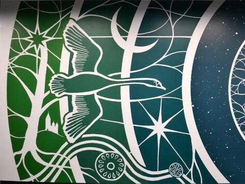 Vægmaleri Facebook Datacenter Odense