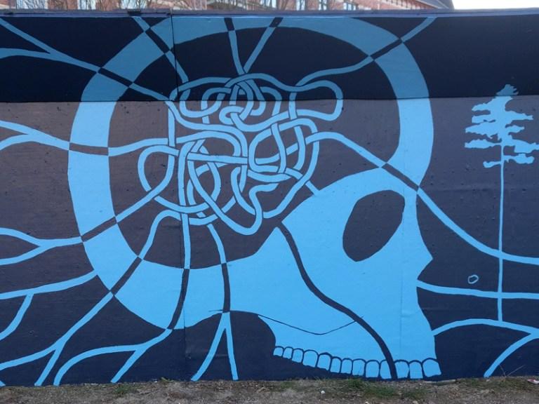 Mural Nørrebro Copenhagen