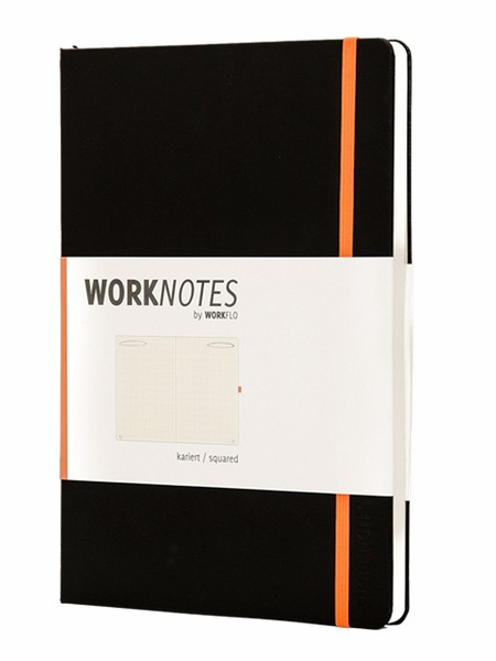 WORKNOTES A4 Notizbuch kariert