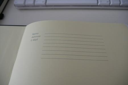 Worknotes A4 Notizbuch innen
