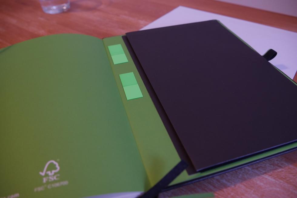 Leitz Notizbuch Haftnotizblöcke
