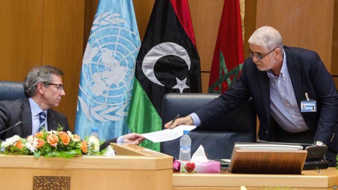accordo su governo in libia