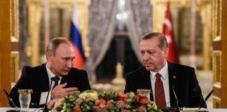 Russia Turchia accordo su gas e Siria