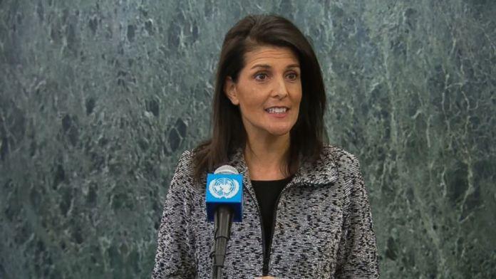 nikki haley annuncia proposta usa nuove sanzioni corea