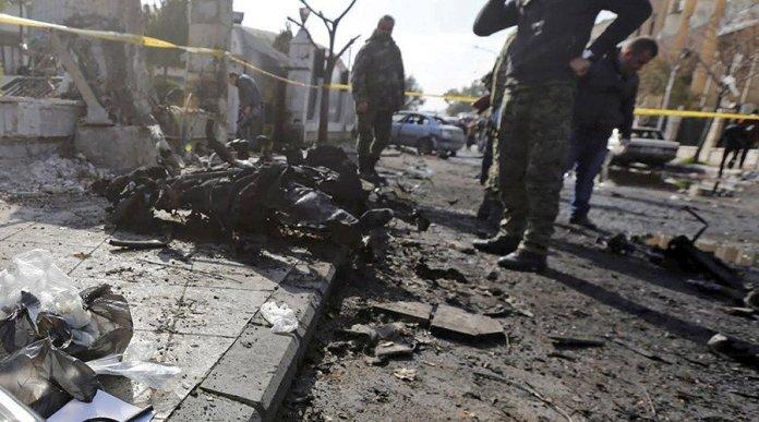 attacco a damasco 15 morti