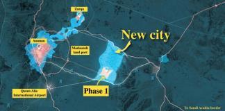 La nuova smart city a est di Amman
