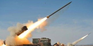 ribelli houthi lanciano missile contro Riad