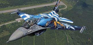 La Grecia si arma e acquista metà flotta f-16 da Usa