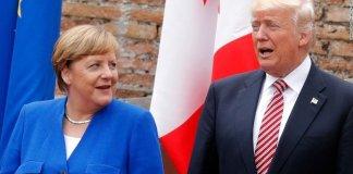 Merkel Trump due leader antagonisti costretti a vedersi