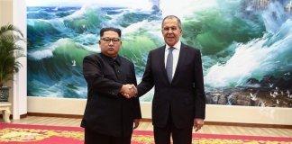 Lavrov incontra Kim