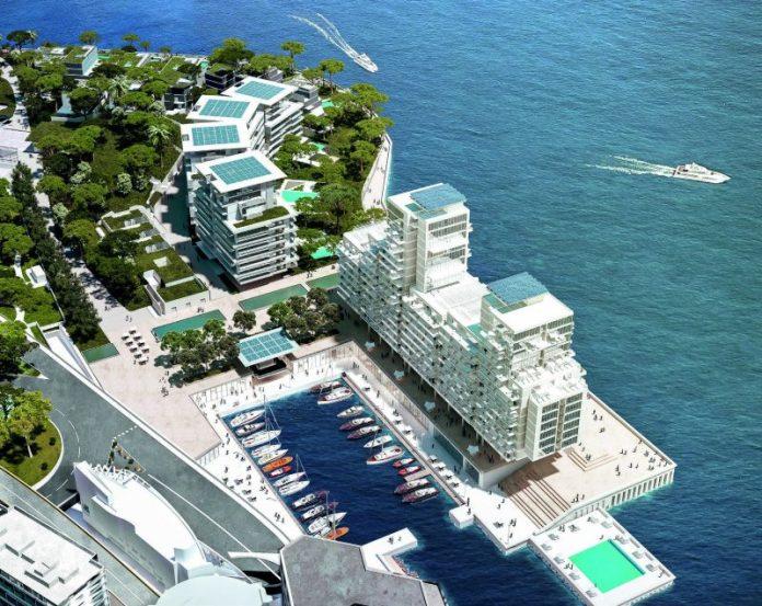 Monaco si estende sul mare grazie a un progetto di Renzo Piano