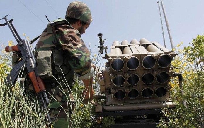Missili contro Hezbollah in Siria