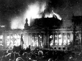Le strane notizie sull'incendio al Reichstag di Berlino