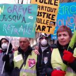 La protesta in Francia