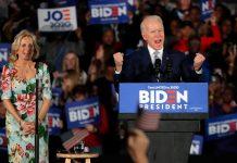 Primarie democratiche in South Carolina: trionfa Biden