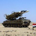 Siria abbatte missili lanciati da Israele sui cieli del Libano