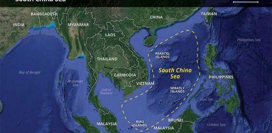 Infografica Mar Cinese Meridionale