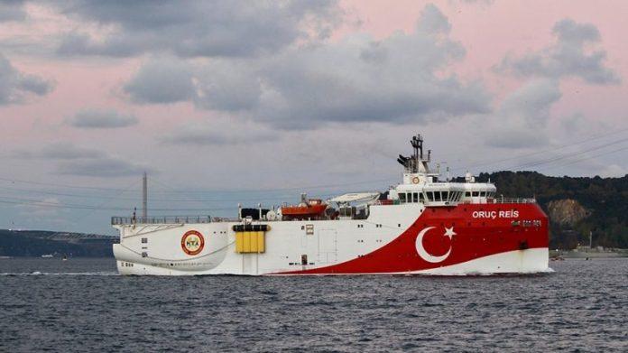 Crisi del gas tra Grecia e Turchia nel Mediterraneo.