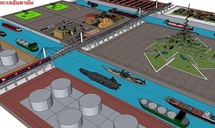 Il progetto del canale tailandese di Kra