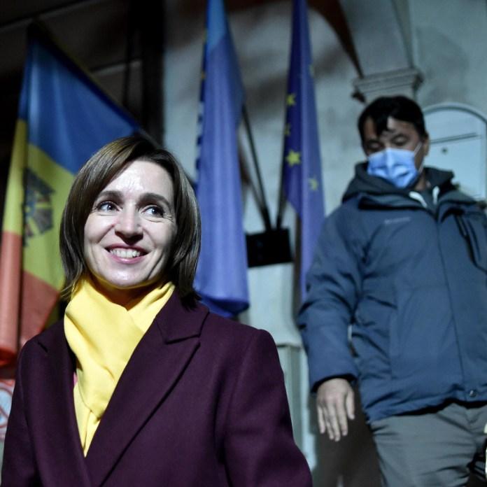 Il primo passo della presidente moldava verso l'Ue