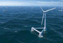 Progetti di energia eolica al largo della California