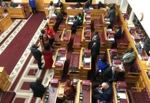 Assalto al parlamento della Namibia