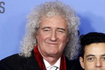 Brian May suona con Brian May (giovane) nel video di Back to the Light