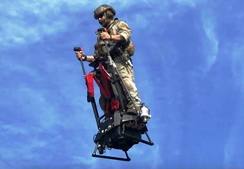 Ecco l'Ezfly, il segway aereo e vero hoverboard volante