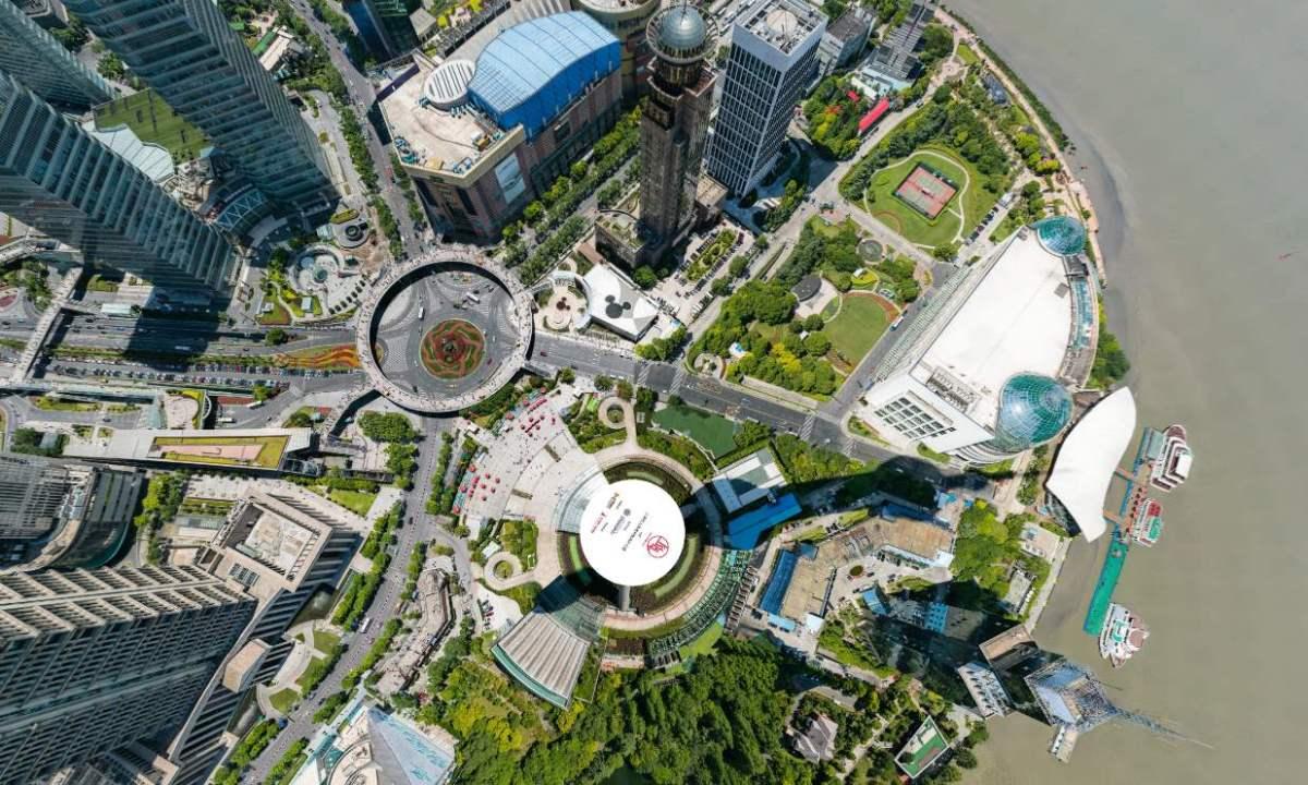 Incredibile foto satellitare di Shanghai da 24,9 miliardi di pixel zoomabile fin nei dettagli
