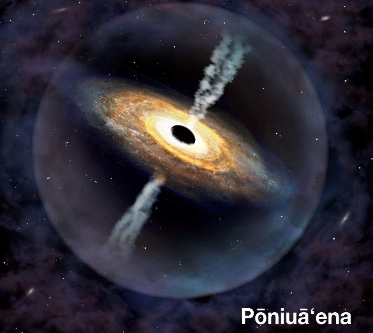 Scoperto buco nero mostruoso lontano 13 miliardi di anni luce