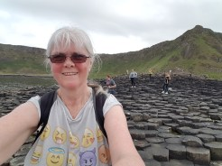 me at the Giant's Causeway