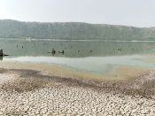 Lonar Lake Reflection
