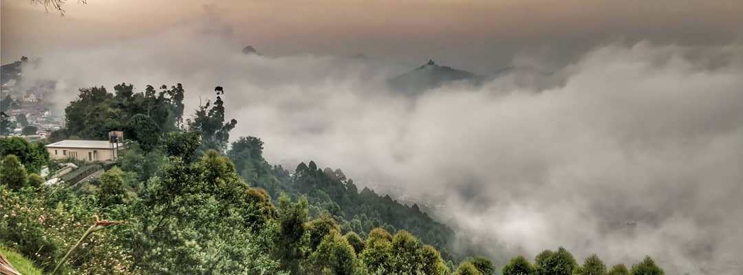 The beautiful view of Kodaikanal