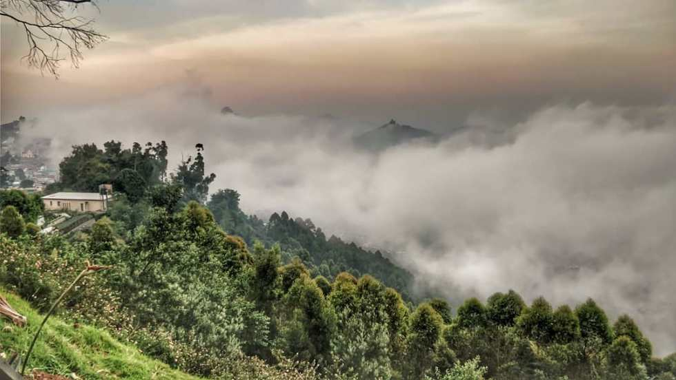 Beautiful view of Kodaikanal