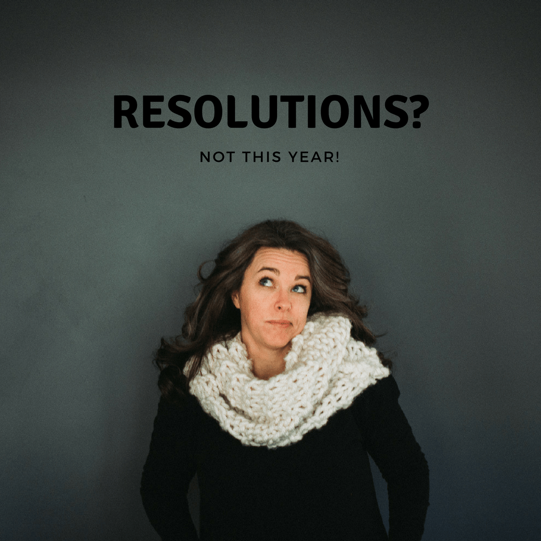 New Year's Resolutions?