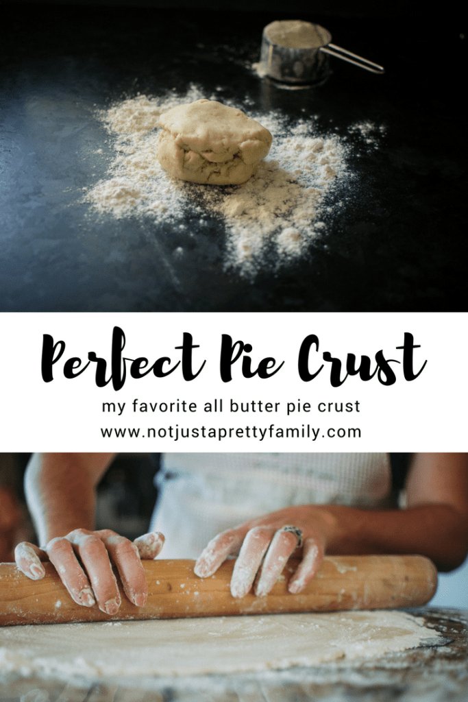 The Perfect Pie Crust | An all butter pie crust perfect for any type of pie you fancy | notjustaprettyfamily.com | #pie #baking #piecrust