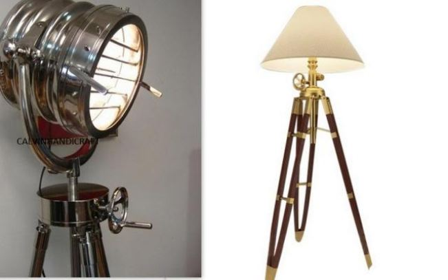 The modern tripod lamp; does your home need one? Stunningly modern and aesthetically crafted