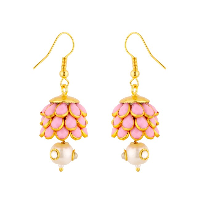 Nidhi & Alop Mehta bring to your these gorgeous earrings from the 'pink city' via Jaipurse