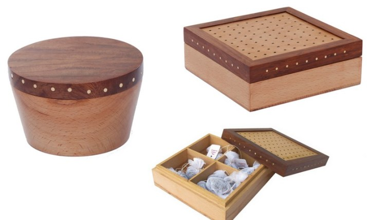 Hand crafted excellence by Organic Connect - perfect for the little storage needs