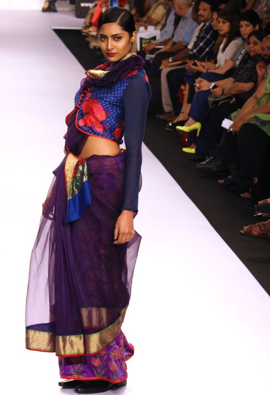 Krishna Mehta's beautiful Maheshwari collection via