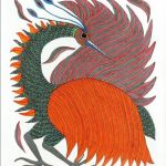 gond painting handmade art india