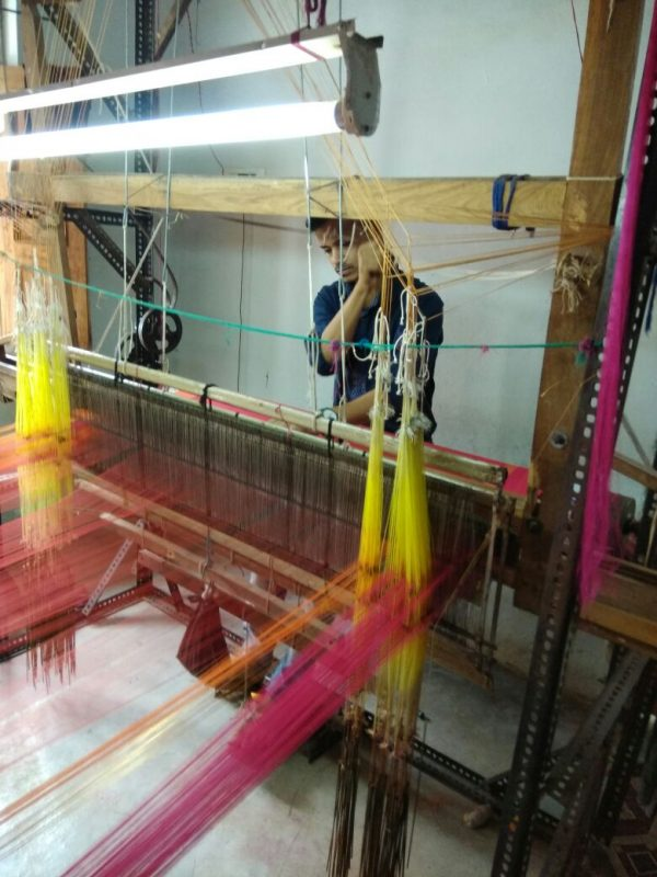 Meet the Maker: Tousif Ansari, a Maheshwari Sari Weaver