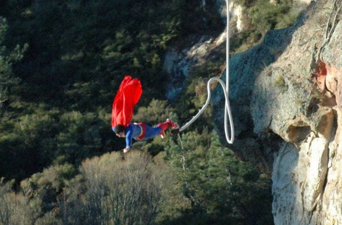 Taupo Bungy - superman