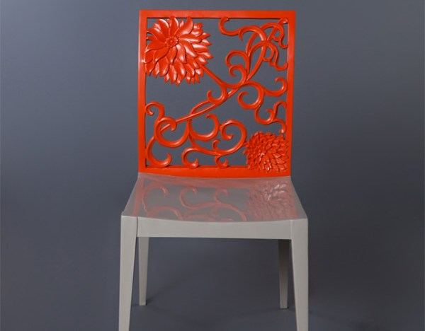 Tangerine chair - Zayin