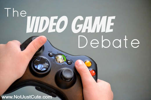 The Video Game Debate
