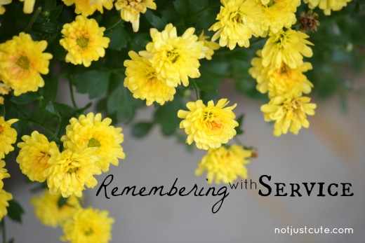 Remembering with Service