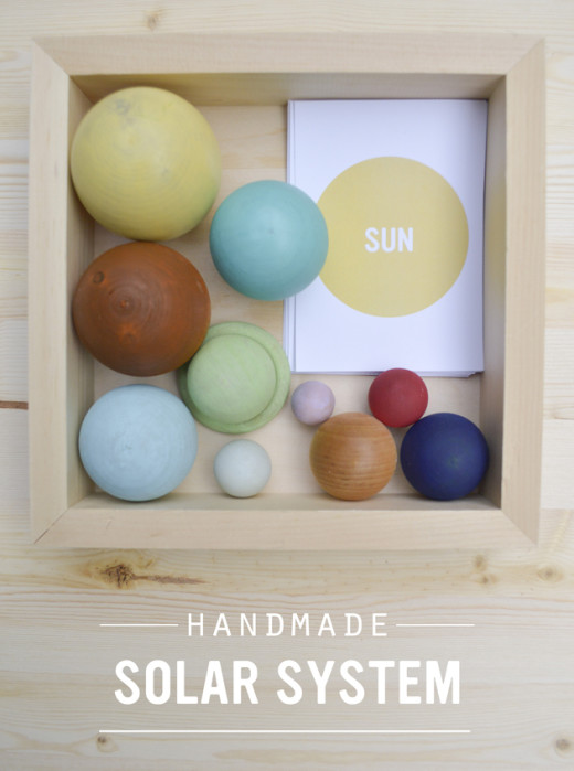 Handmade Solar System Box from Playful Learning