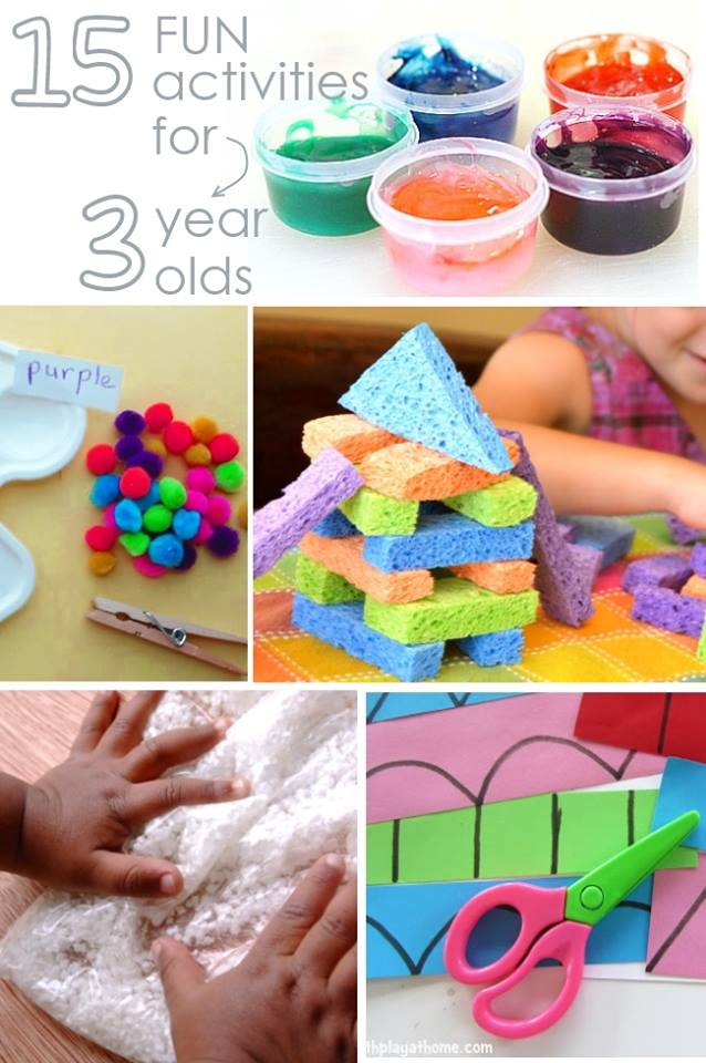 15 Fun Activities For 3 Year Olds