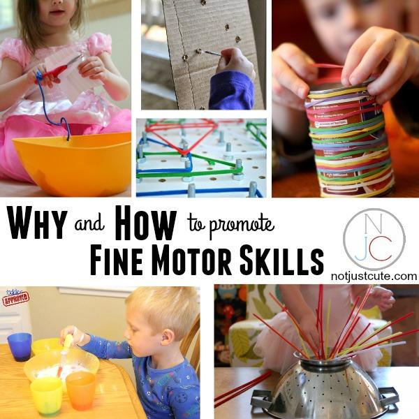 building preschool fine motor skills