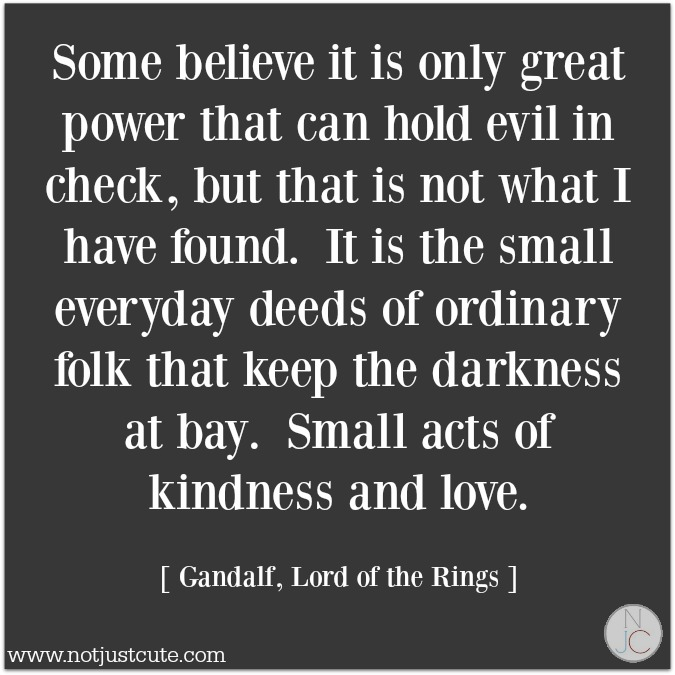 small acts of love